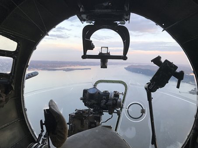 B-17 Ditched in the Channel.
