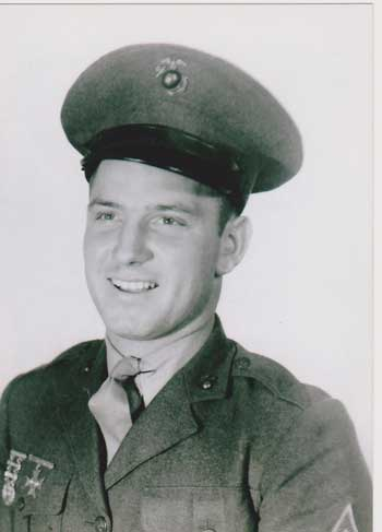 Photo of Dale's father during WWII.